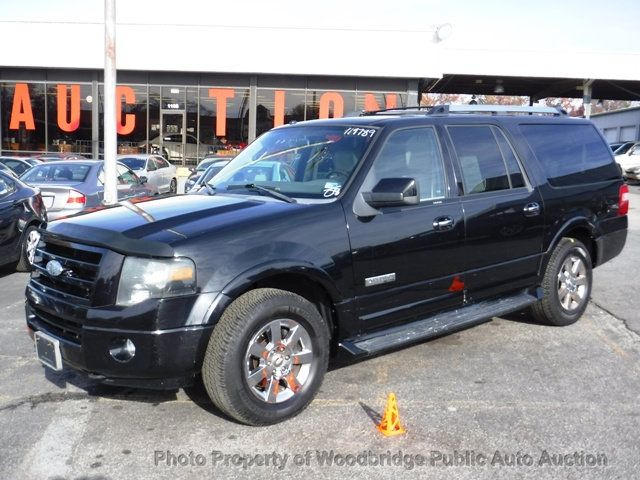 Ford Expedition El >> 2008 Used Ford Expedition El 4wd 4dr Limited At Woodbridge Public Auto Auction Va Iid 19530906