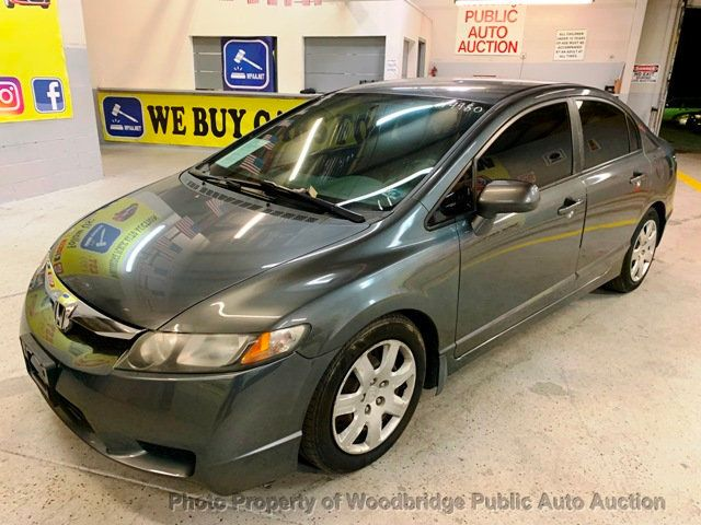 2011 Honda Civic Sedan >> 2011 Used Honda Civic Sedan 4dr Automatic Lx At Woodbridge Public Auto Auction Va Iid 19643053