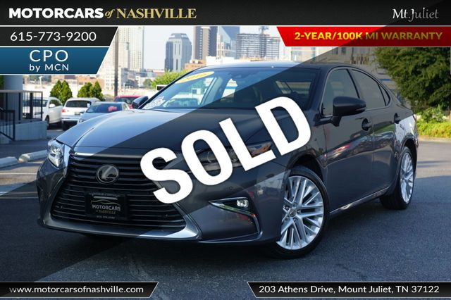2016 Used Lexus ES 350 4dr Sedan at MotorCars of Nashville - Mt Juliet  Serving Mt Juliet, TN, IID 18971488