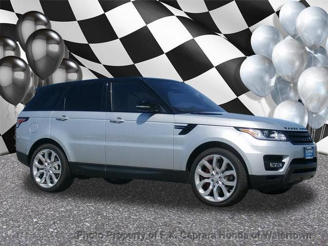 Range Rover Sport Used >> 2017 Used Land Rover Range Rover Sport Supercharged At F X Caprara Honda Of Watertown Ny Iid 17794252