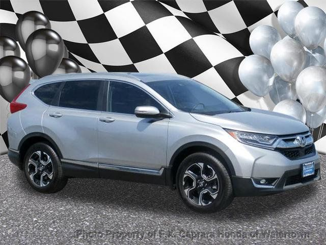 2017 Used Honda Cr V Touring Awd At F X Caprara Of Watertown Ny Iid 18006577