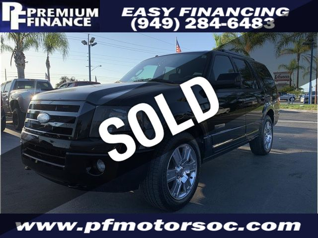 2008 Used Ford Expedition LIMITED, 4X4, LEATHER PACK, THIRD ROW SEAT, CLEAN  at Premium Finance Serving Stanton, CA, IID 19309376