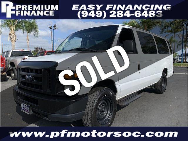 Ford 15 Passenger Van >> 2010 Used Ford E350 Super Duty Passenger Xlt Extended 15
