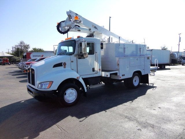 2009 Used Kenworth T300 ALTEC AT237 BUCKET BOOM TRUCK at TLC