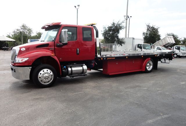 Flatbed Tow Truck >> 2020 New International Mv607 22ft Rollback Tow Truck Jerrdan