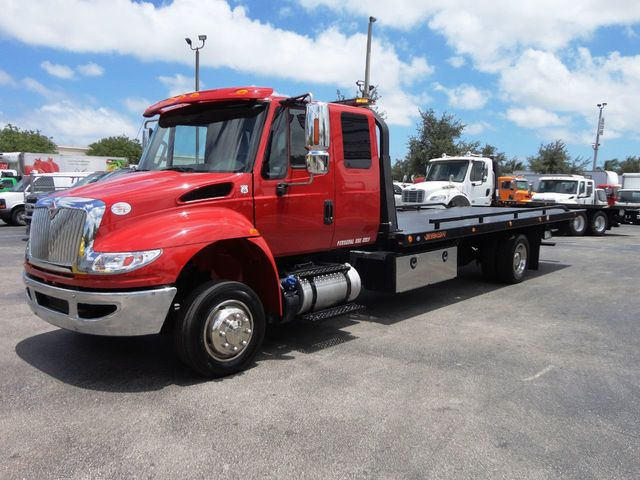 Magnificent 2018 Used International 4300 22Ft Jerrdan Xlp Tow Truck Evergreenethics Interior Chair Design Evergreenethicsorg