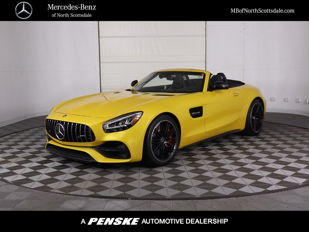 New 2020 Mercedes-Benz AMG® GT C Roadster With Navigation