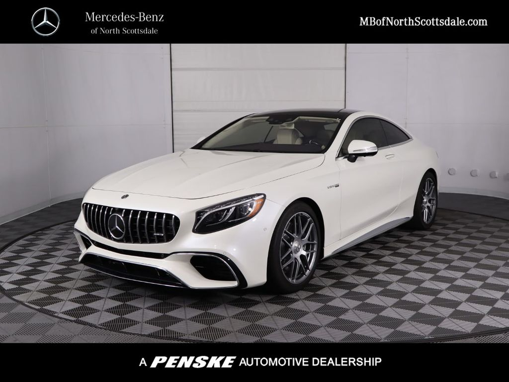 New 2020 Mercedes-Benz S-Class AMG® S 63 Coupe With Navigation & AWD