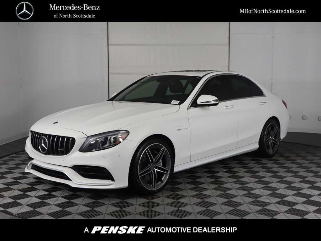 New 2020 Mercedes-Benz C-Class AMG® C 63 Sedan Rear Wheel Drive Sedan