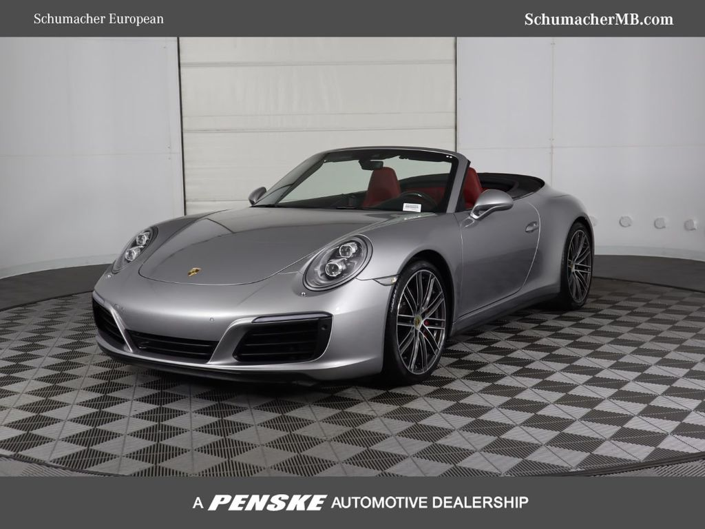 Pre-Owned 2017 Porsche 911 Carrera 4S Cabriolet With Navigation