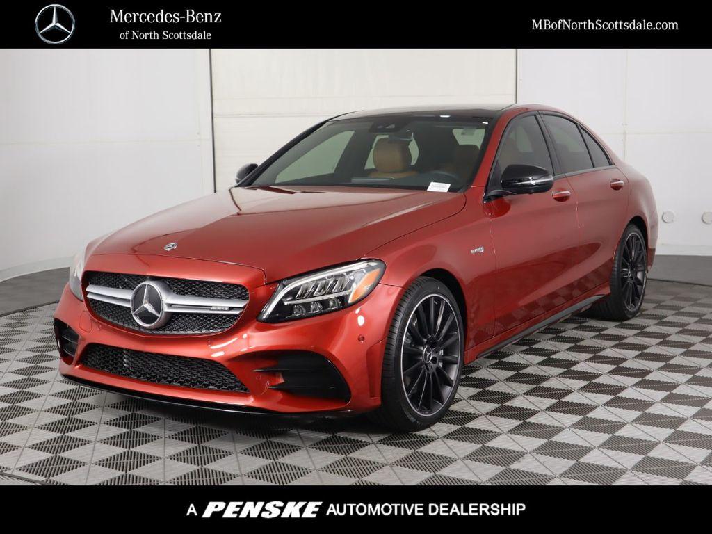 New 2020 Mercedes-Benz C-Class AMG® C 43 Sedan