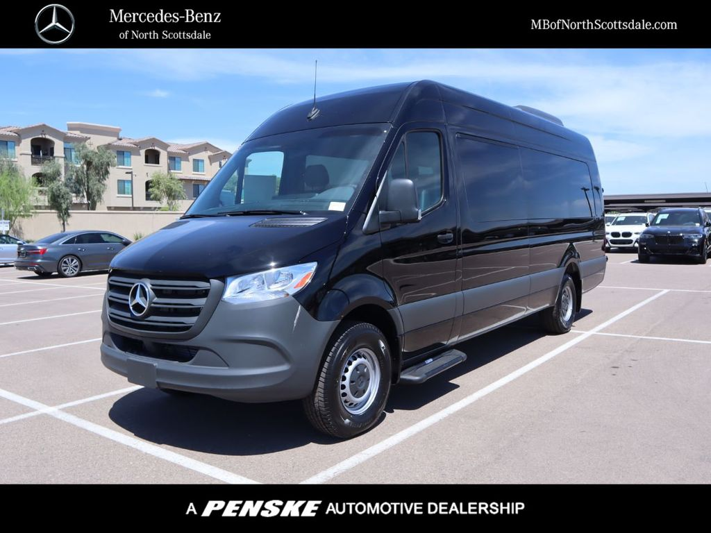 "New 2019 Mercedes-Benz Sprinter Cargo Van 3500 High Roof V6 170"" Extended RWD"