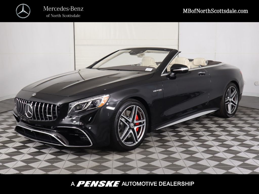 New 2020 Mercedes-Benz S-Class AMG® S 63 4MATIC+ Cabriolet