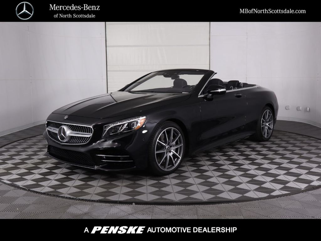 New 2020 Mercedes Benz S Class S 560 Cabriolet Convertible In Phoenix St0537 Penske Automall