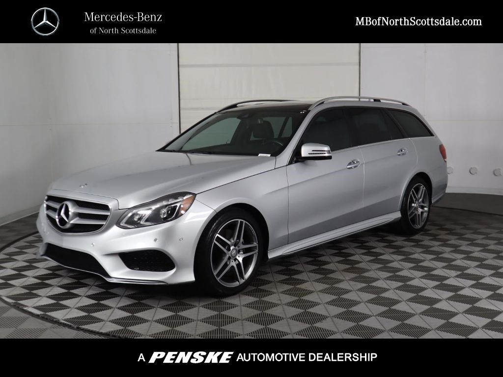 Certified Pre-Owned 2016 Mercedes-Benz E-Class 4dr Wagon E 350 Sport 4MATIC®