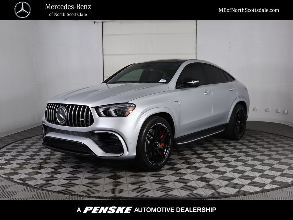 New 2021 Mercedes-Benz GLE AMG® GLE 63 S Coupe