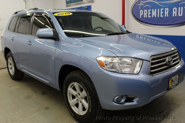 2010 Used Toyota Highlander 4WD 4dr V6 SE at Premier Auto Serving Palatine,  IL, IID 18702619