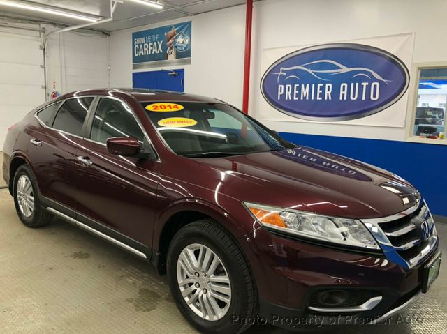 Used Honda Crosstour >> 2014 Used Honda Crosstour 2wd I4 5dr Ex At Premier Auto Serving Palatine Il Iid 19587848