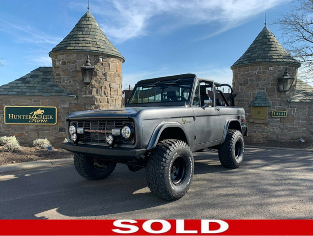 1971 Used Ford Bronco Coming Soon! Frame-off Resto 302, Auto