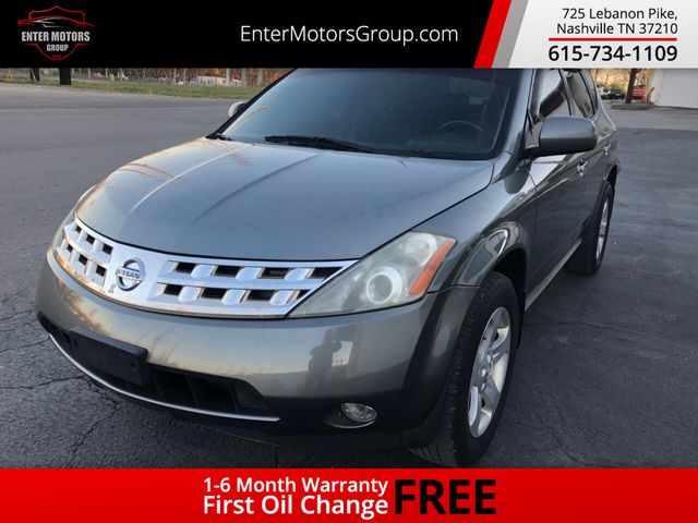 2005 Used Nissan Murano 4dr S Awd V6 At Enter Motors Group Nashville Tn Iid 18742578