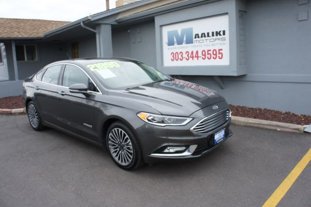 Used Ford Fusion Hybrid >> 2017 Used Ford Fusion Hybrid Titanium Fwd At Maaliki Motors Serving Aurora Denver Co Iid 17638299