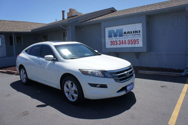 Used Honda Crosstour >> 2012 Used Honda Crosstour 4wd V6 5dr Ex L At Maaliki Motors Serving Aurora Denver Co Iid 17728685