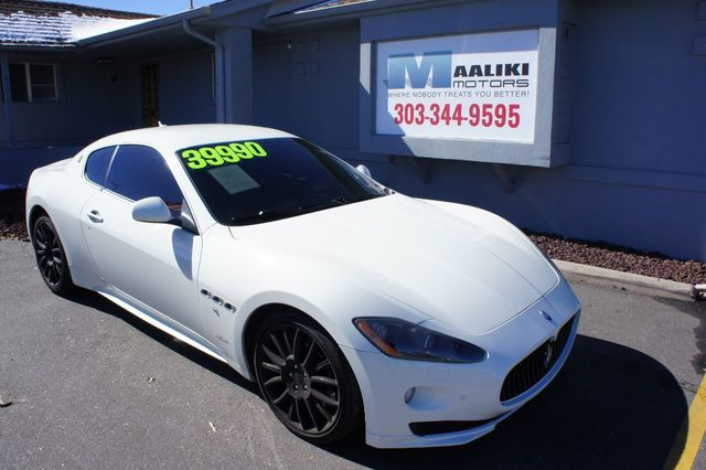 Used Maserati Granturismo >> 2011 Used Maserati Granturismo 2dr Coupe S At Maaliki Motors Serving Aurora Denver Co Iid 18205418