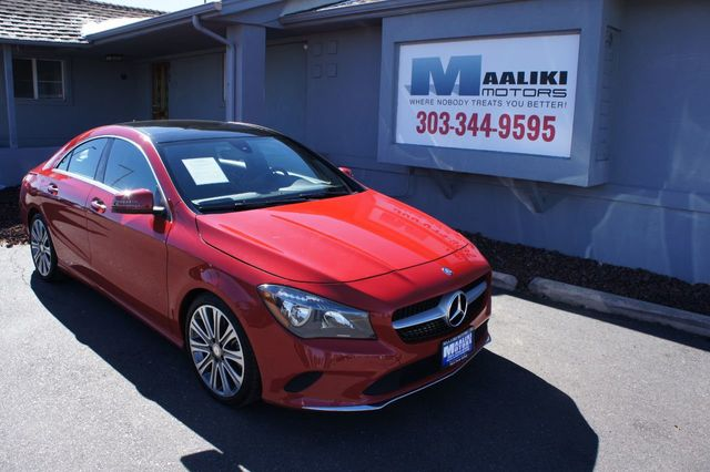 2017 Used Mercedes-Benz CLA CLA 250 4MATIC Coupe at Maaliki Motors Serving  Aurora, Denver, CO, IID 18206367