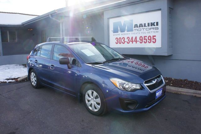 Used Subaru Impreza Hatchback >> 2012 Used Subaru Impreza Wagon 5dr Automatic 2 0i At Maaliki Motors Serving Aurora Denver Co Iid 18520146