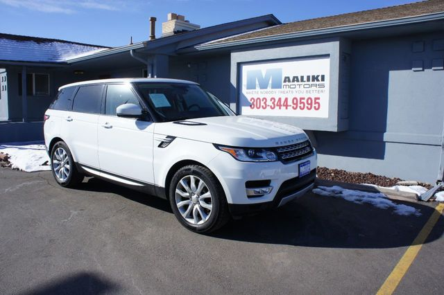 Used Range Rover >> 2015 Used Land Rover Range Rover Sport 4wd 4dr Hse At Maaliki Motors Serving Aurora Denver Co Iid 18602734