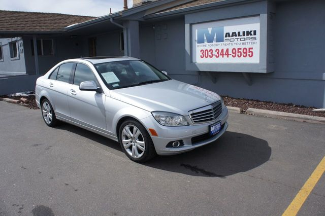 2009 Used Mercedes Benz C Class C300 4dr Sedan 3 0l Sport Rwd At Maaliki Motors Serving Aurora Denver Co Iid 18684307