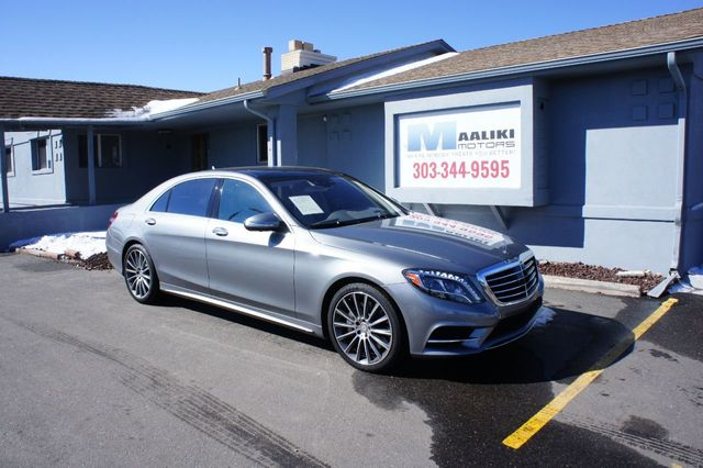 2015 Used Mercedes-Benz S-Class 4dr Sedan S 550 4MATIC at Maaliki Motors  Serving Aurora, Denver, CO, IID 18699626