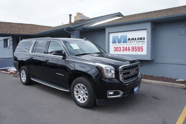 Used Gmc Yukon Xl >> 2018 Used Gmc Yukon Xl 4wd 4dr Slt At Maaliki Motors Serving Aurora Denver Co Iid 18809284