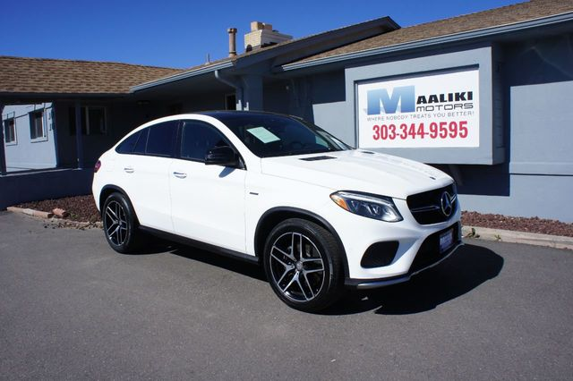 Mercedes Gle 450 Amg >> 2016 Used Mercedes Benz 4matic 4dr Gle 450 Amg Coupe At Maaliki Motors Serving Aurora Denver Co Iid 18962587