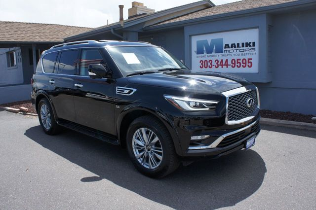 Used Infiniti Qx80 >> 2019 Used Infiniti Qx80 At Maaliki Motors Serving Aurora Denver Co Iid 19011025