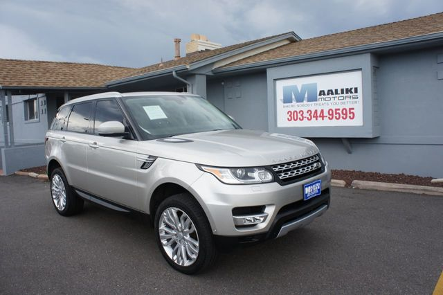 Used Range Rovers >> 2015 Used Land Rover Range Rover Sport 4wd 4dr Hse At Maaliki Motors Serving Aurora Denver Co Iid 19127693