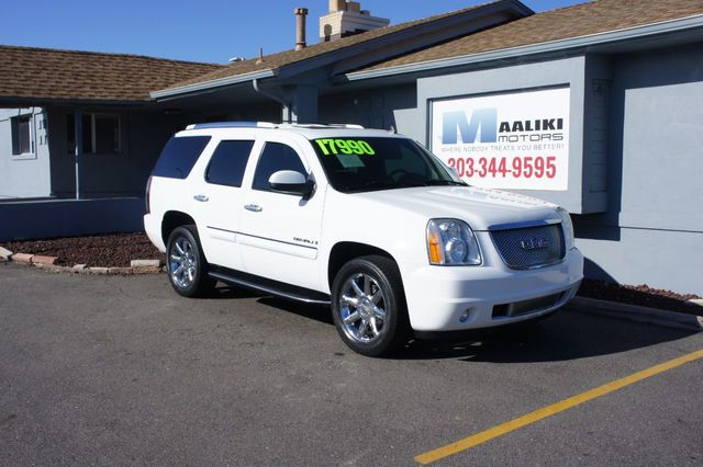 Used Yukon Denali >> 2008 Used Gmc Yukon Denali Awd 4dr At Maaliki Motors Serving Aurora Denver Co Iid 19310733