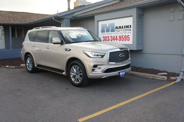 Used Infiniti Qx80 >> 2019 Used Infiniti Qx80 At Maaliki Motors Serving Aurora Denver Co Iid 19367926