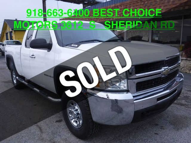 2008 Used Chevrolet Silverado 2500hd 4wd Crew Cab 153 Work Truck At Best Choice Motors Serving Tulsa Ok Iid 18581586