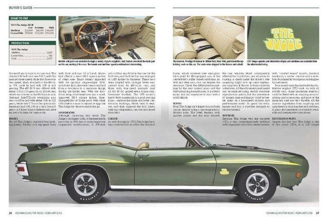 1970 Pontiac GTO Judge 4
