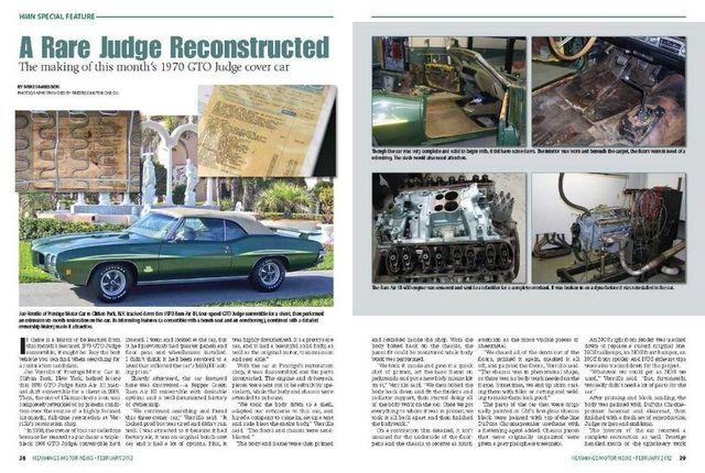 1970 Pontiac GTO Judge 5
