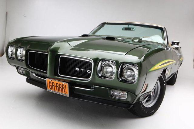 1970 Pontiac GTO Judge 59