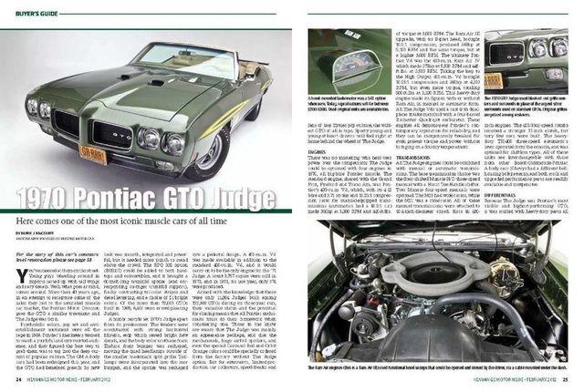 1970 Pontiac GTO Judge 6