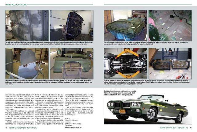 1970 Pontiac GTO Judge 9