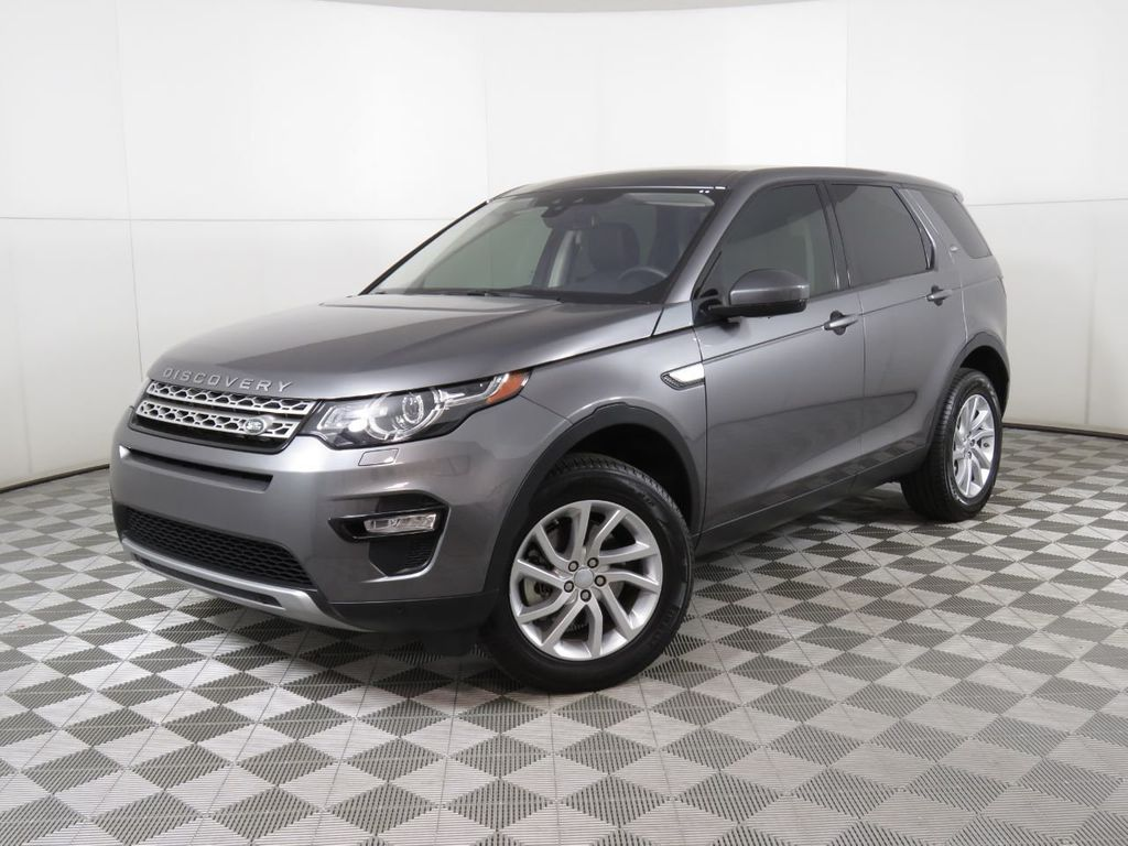 Certified Pre-Owned 2019 Land Rover Discovery Sport HSE 4WD
