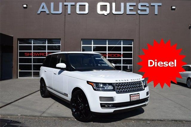 2016 Used Land Rover Range Rover 4WD 4dr Diesel HSE at Auto Quest Inc   Serving Seattle, WA, IID 17947649