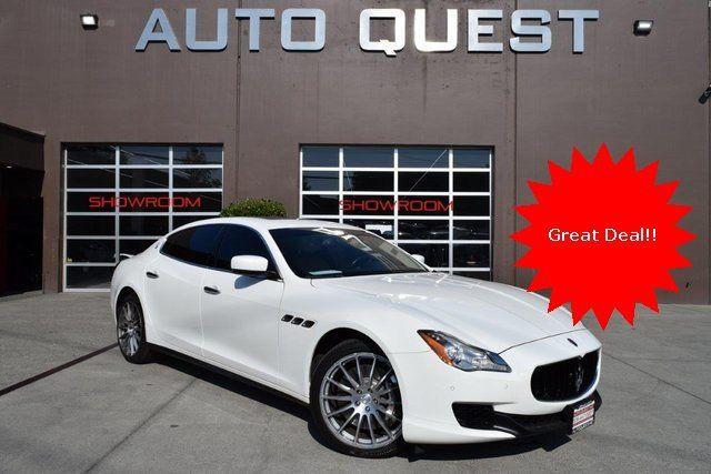2014 Maserati Quattroporte >> 2014 Used Maserati Quattroporte 4dr Sedan Sport Gt S At Auto Quest Inc Serving Seattle Wa Iid 18697292