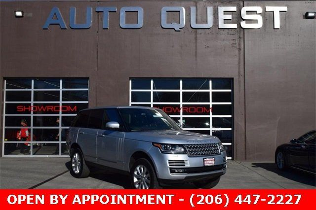 Range Rover Seattle >> 2015 Used Land Rover Range Rover 4wd 4dr Hse At Auto Quest Inc Serving Seattle Wa Iid 18733838