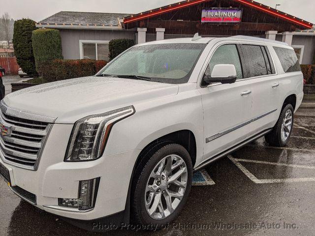 Cadillac Escalade Platinum >> 2016 Used Cadillac Escalade Esv Not Canadian Like New Platinum Edition White Tan Loaded Nice At Platinum Wholesale Auto Inc Serving Woodinville Wa