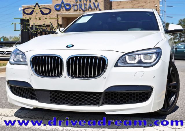 2015 Used BMW 7 Series 750Li with Driving Assist Plus, Executive & M Sport  Packages at Drive a Dream Serving Marietta, GA, IID 18823835